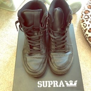 Supra Vaider Leather Skate Hitops